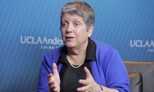 Judy Olian with Janet Napolitano