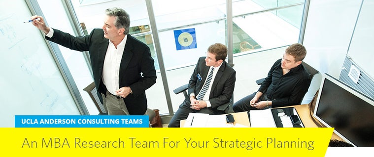 UCLA Anderson Consulting Teams
