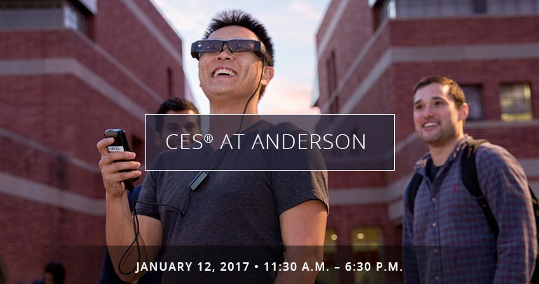 CES 2017 at UCLA Anderson
