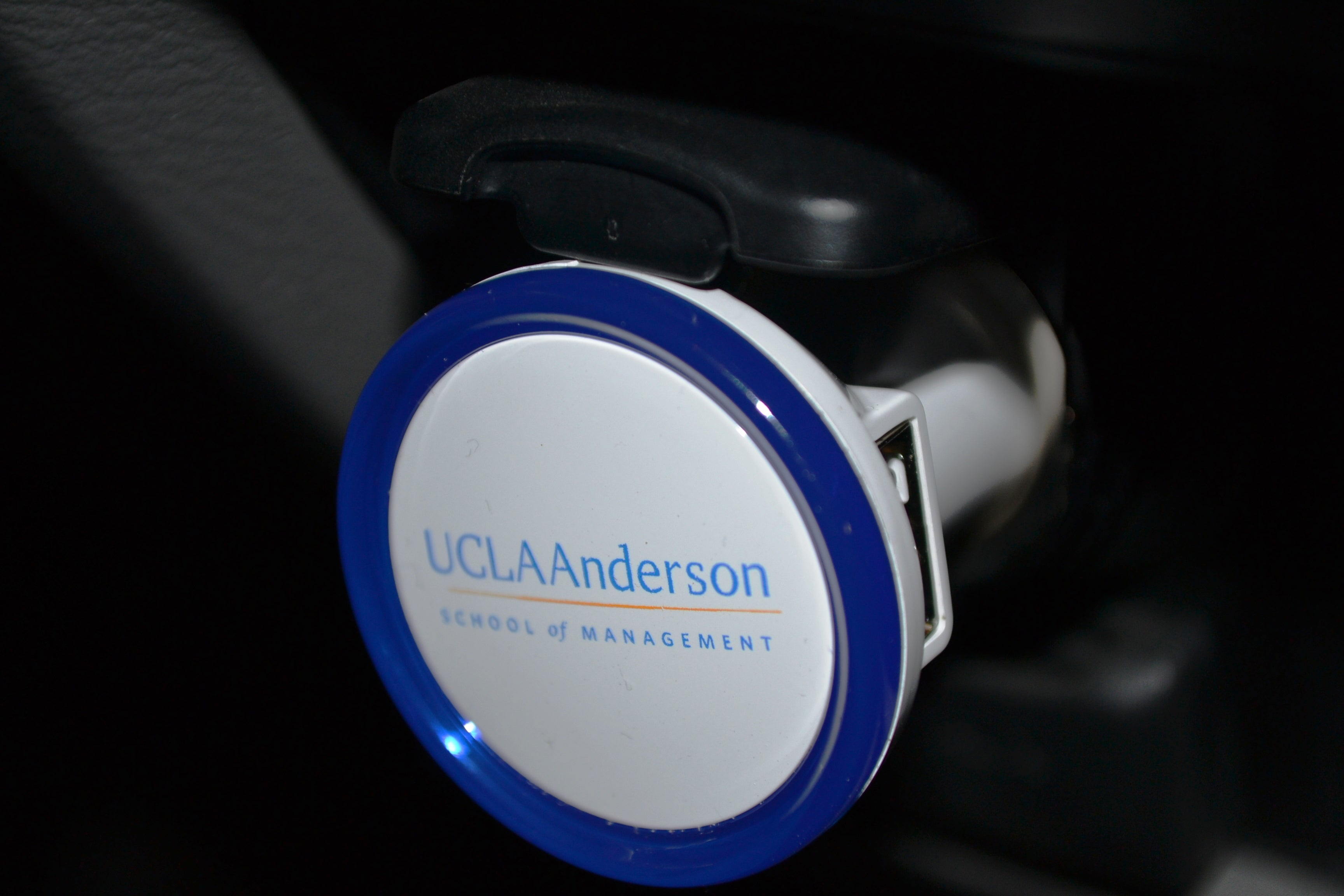 Two-port USB Lighted Car Charger