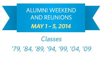 Alumni Weekend and Reunions