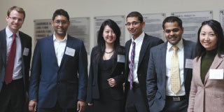 Fink Center AIA Stock Pitch Competition students