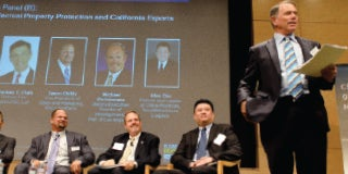 UCLA Anderson Forecast's Jerry Nickelsburg and guest speakers