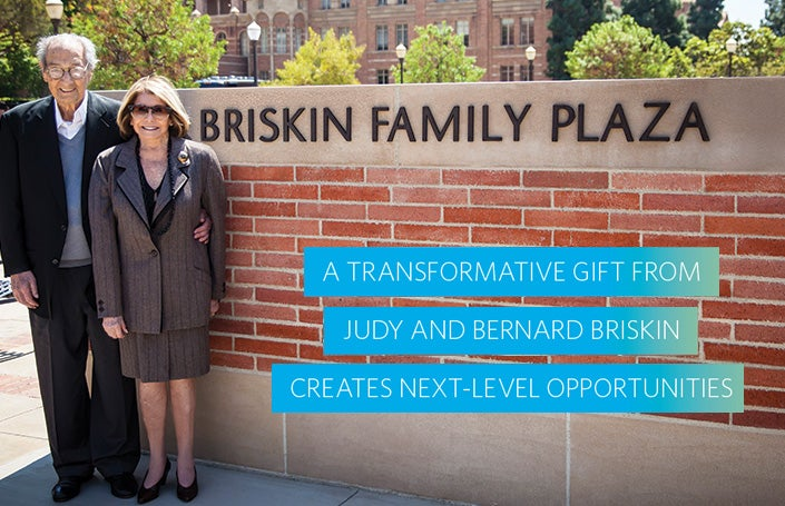 Transformative Gift From Judy and Bernard Briskin