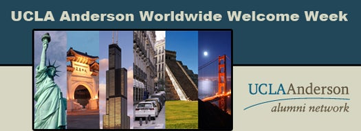 UCLA Anderson Worldwide Welcome Week
