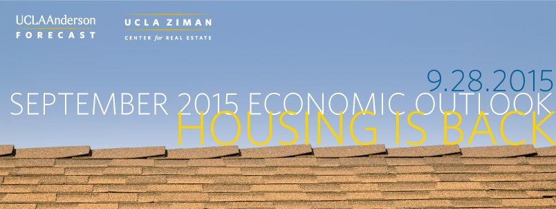 September 2015 Economic Outlook