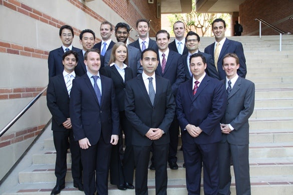 UCLA Anderson Student Asset Management Class of 2012