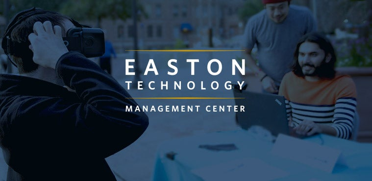 Easton Technology Management Center's Annual Keynote