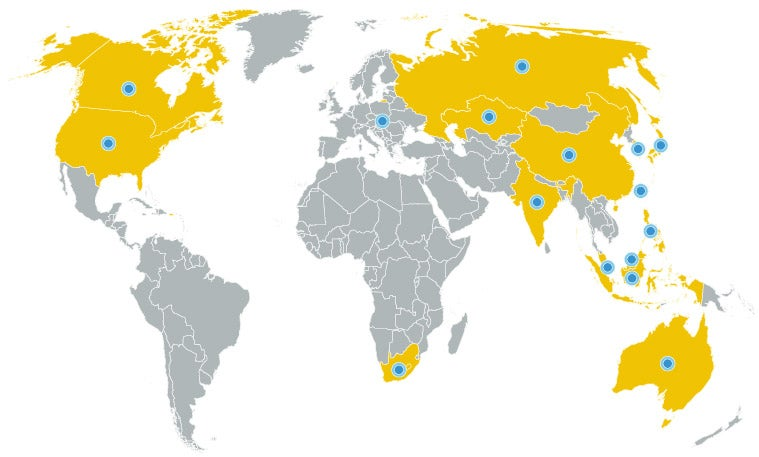UCLA Anderson Global EMBA Program gives you contacts around the globe.
