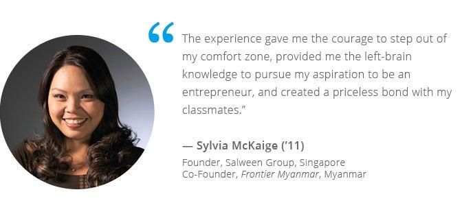 Sylvia McKaige, GEMBA Asia ('11)