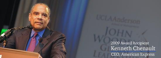 John Wooden Global Leadership Award Dinner 2009. Recipient: