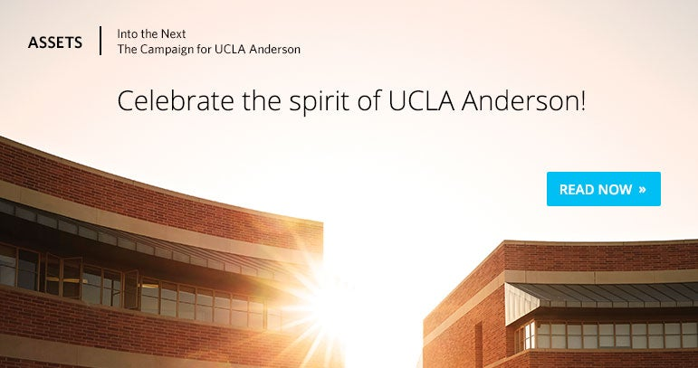 Assets Digital: The Campaign for UCLA Anderson