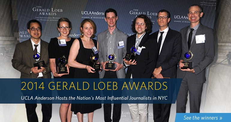 Loeb Awards 2014