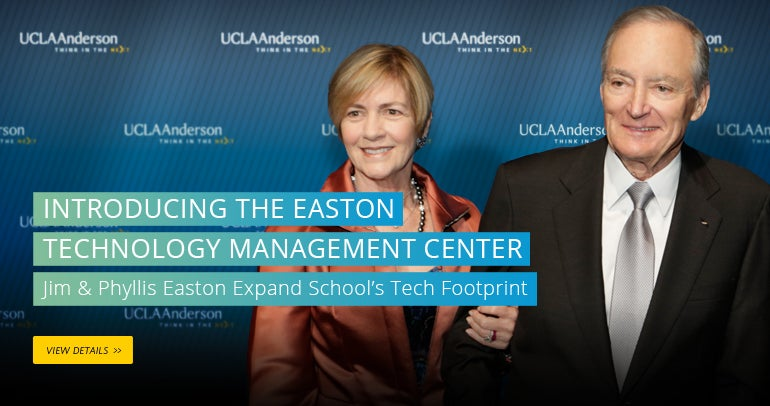 Introducing the Easton Center for Technology Management