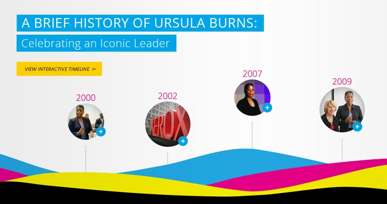 A Brief History of Ursula Burns: Celebrating an Iconic Leader