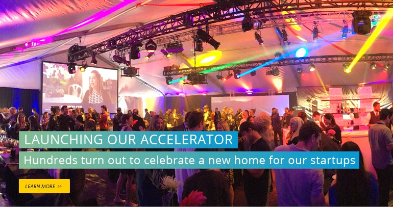 Launching our Accelerator