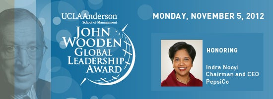 2012 John Wooden Global Leadership Award