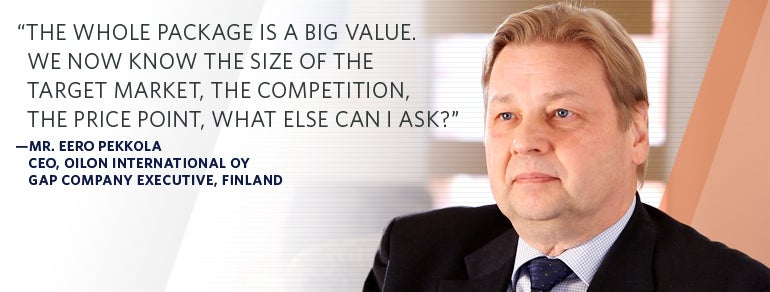 Mr. Eero Pekkola, CEO Oilon International Oy