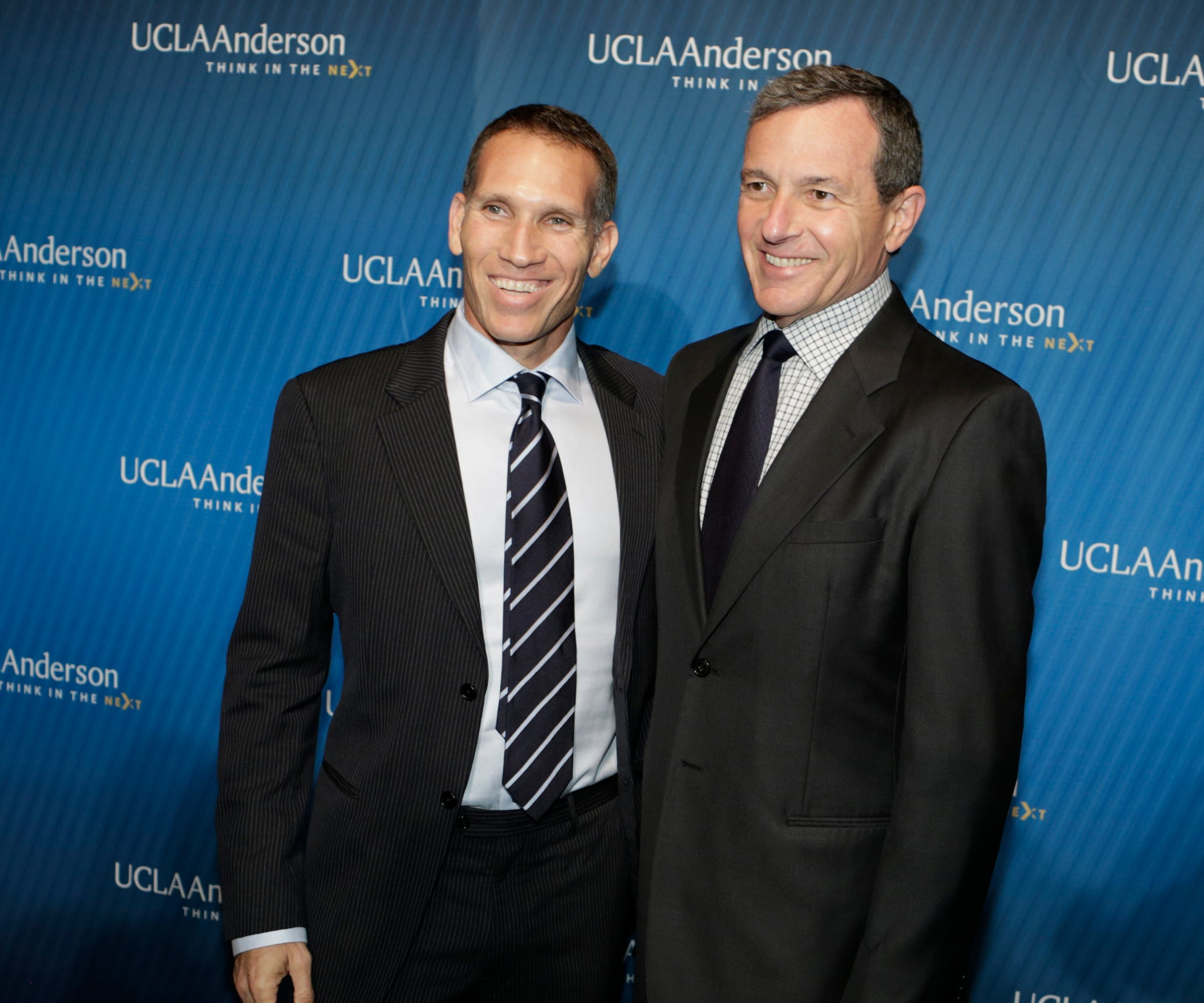 Ynon Kreiz ('93) and Bob Iger
