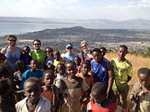 UCLA Anderson students in Africa