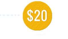 Buy 8 tickets for $20