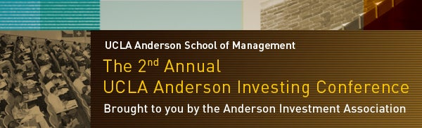 UCLA Anderson Investing Conference