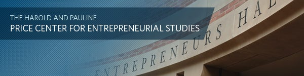 The Harold and Pauline Price Center for Entrepreneurial Studies