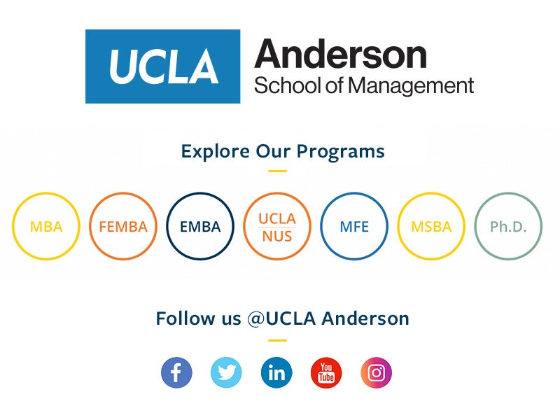 UCLA Anderson Home | UCLA Anderson School of Management